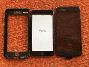 iPhone 6 plus 64GB with Lifeproof case