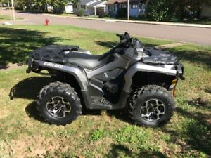 2012 Can-Am Outlander 800XT G2