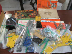 Vintage MECCANO SET with Manuals