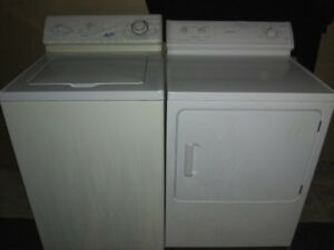 Washer/Electric Dryer $250
