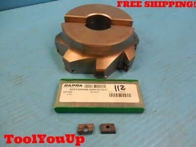 Dapra Sssm5000-1500-r55-8 5 Dia Face Mill With 10 Apet 160408 Carbide Inserts