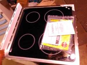 "Electric stove 24"" ancona  new"
