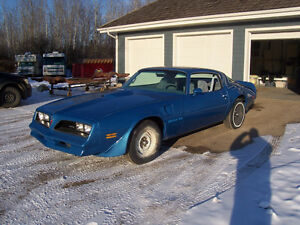 1978 Trans Am project car - nearly complete