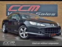 Peugeot 407 2.2 SE 2DR 2006 + LOW MILES + HEATED LEATHER + WARRANTY
