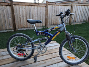 Youth mountainbike full suspension  with 6 speed  for sale