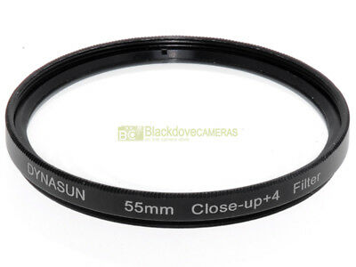 58mm. aggiuntivo macro +4 diottrie Dynasun. Close-up lens. #