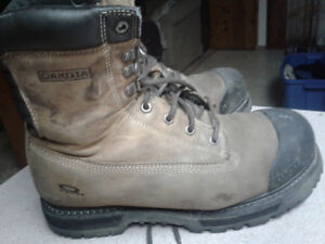 Size 10 1/2 work boots. $50 obo.