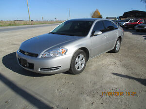 2007 Chevrolet Impala LS Sedan     EXCELLENT CONDITION