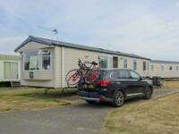 Swift Loire 2014 static caravan at Haven's Church Farm, Pagham