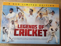 Cricket DVDs brand new
