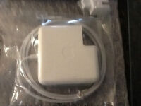 Mac book pro chargers open box sale $50.