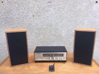 Original 60s Stereo Amp iPod Player