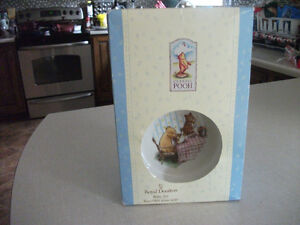 royal doulton disney winnie the pooh childrens set in boc