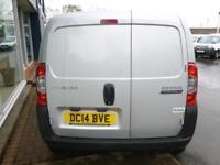 2014 Peugeot BIPPER HDI PROFESSIONAL 75ps VAN *SILVER* Manual Small Van