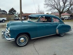 1950 Chevy Torpedo back sedan