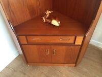Authentic G Plan Teak Corner Unit cupboard, cabinet - Can Deliverv