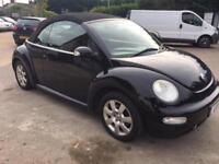 2003 Volkswagen Beetle 1.6 petrol manual