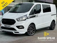 2019 Ford Transit Custom TDCI 130ps RS Edition Limited Crew Cab DCIV L1 H1 SWB E