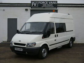 FORD TRANSIT 350 LWB PETROL/LPG MOBILE WORKSHOP TOOL CREW TRANSPORT DAY VAN
