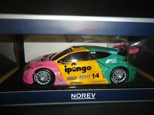 1/18 DIECAST Norev Renault Megane Trophy 2012 Team Oregon Costa