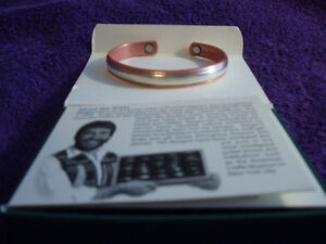 MAGNETIC STERLING SILVER IN COPPER BRACELET West Island Greater Montréal image 7