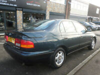 1997 Toyota Carina E 1.8 CDX 4DR P REG PETROL BLUE