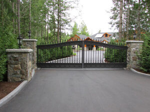 Custom Aluminum Driveway Gates & Automated Gate Opening Systems! Comox / Courtenay / Cumberland Comox Valley Area image 3