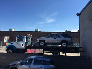 2005 International 4300 FLATBED TOW TRUCK