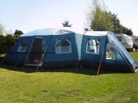 Large 6 berth family tent - Aspen 700 DLX
