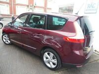 Renault Scenic GRAND DYNAMIQUE TOMTOM DCI (grenite red) 2012