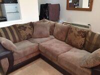 Corner Sofa and foot rest