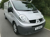 2014 63 RENAULT TRAFIC 2.0DCI LWB LL29 ECO 115 BHP 1 OWNER FREE UK DELIVERY