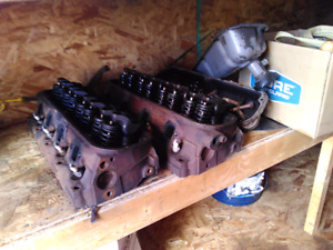 302 cylinder heads and valve covers