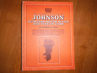 Vintage Johnson Outboard Repair Manual 1.5-115 HP up to 1969