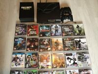 Ps3 and 2 controllers 37 games