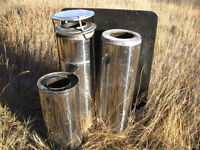 """7"""" Insulated Stove Pipe"""