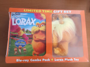 Lorax DVD and plush