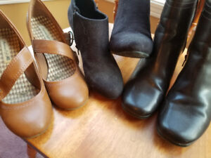 CUTE LADIES BOOT STYLE SHOES-$15/LOT OR $5 PER PAIR