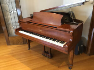 BABY GRAND PIANO, M Schulz and Co. Recondition Refinished
