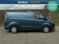2018 Ford Transit Custom 2.0 EcoBlue 130ps Low Roof Limited Short Wheelbase L1H1