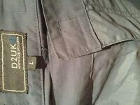 Men's large d2uk walking trousers. Waterproof.
