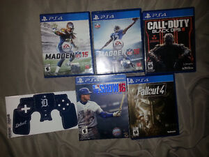 Ps4 games for sale & Detroit Tigers stick it for the controller Windsor Region Ontario image 1