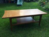 Vintage 70s coffee table