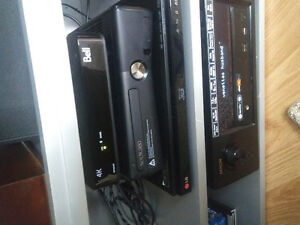 Black XBOX 360S with games and extras Kitchener / Waterloo Kitchener Area image 1
