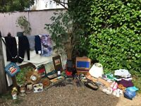 Job lot/car boot bundle vintage items-cameras-perfume-clothes-collectors toys and more