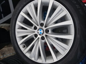 """BMW mags and tire 19"""""""