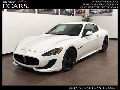 2014 Maserati Gran Turismo Sport 2014 Maserati GranTurismo S Navigation SIRIUS Radio Carbon Fiber Trim New Tires