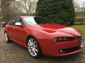 ALFA ROMEO 159 2.0 16V TI 4DR SALOON STUNNING RED FULL LEATHER