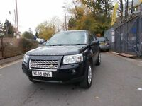 Land Rover Freelander 2 2.2 TD4 XS 5dr LADY OWNED SERVICE HISTORY 07/56 (black) 2007