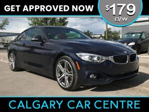2014 BMW 428XI $179B/W TEXT US FOR EASY FINANCING! 587-582-2859